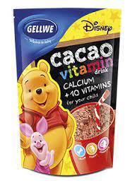 Упаковка какао і желе Gellwe
