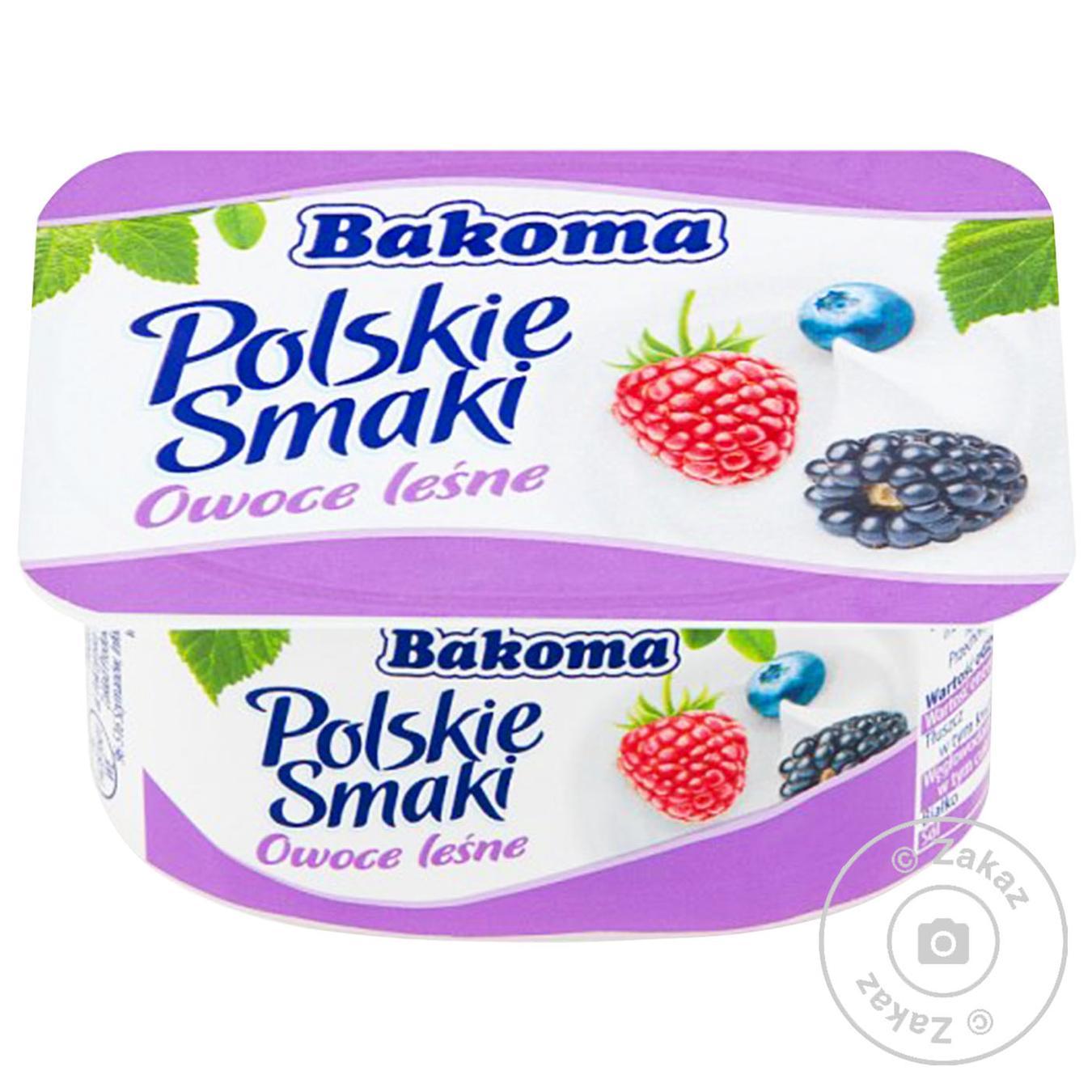 Упаковка йогуртів Bakoma