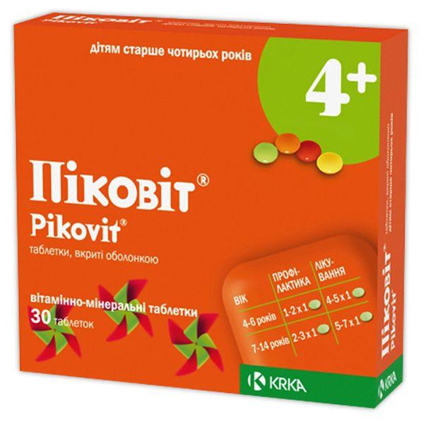 Упаковка витаминов PIKOVIT